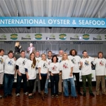 14 Representatives of the 14 Tribes of Galway taking part in the GAthering Ireland - Tribal Oyster Feast Off - photo Julia Dunin (Custom)