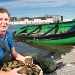 Guest chefs including Kevin Thornton gave hourly demos at the Galway Oyster Festival Marquee