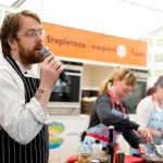 LookWest.ie Cook Off judged by JP McMahon owner of Aniar Restaurant as part of the 59th Galway Oyster Festival - photo Julia Dunin (Custom)