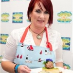 Martina Flatley, finalist of the LookWest.ie Cook Off on Sunday at the 59th Galway Oyster Festival - photo Julia Dunin (Custom)