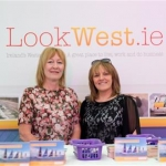 Mary Keaveney and Caroline Coffey of LookWest.ie at the 59th Galway Oyster Festival - photo Julia Dunin (Custom)