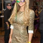 Rosanna Davidson, former Miss World enjoys the Galway Oyster Festival
