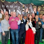 UK visitors enjoying the Bollinger World Oyster Opening Championship