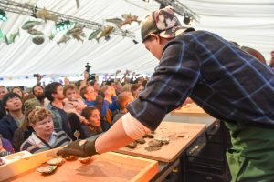 Galway International Oyster and Seafood Festival 2016. Photo: Boyd Challenger