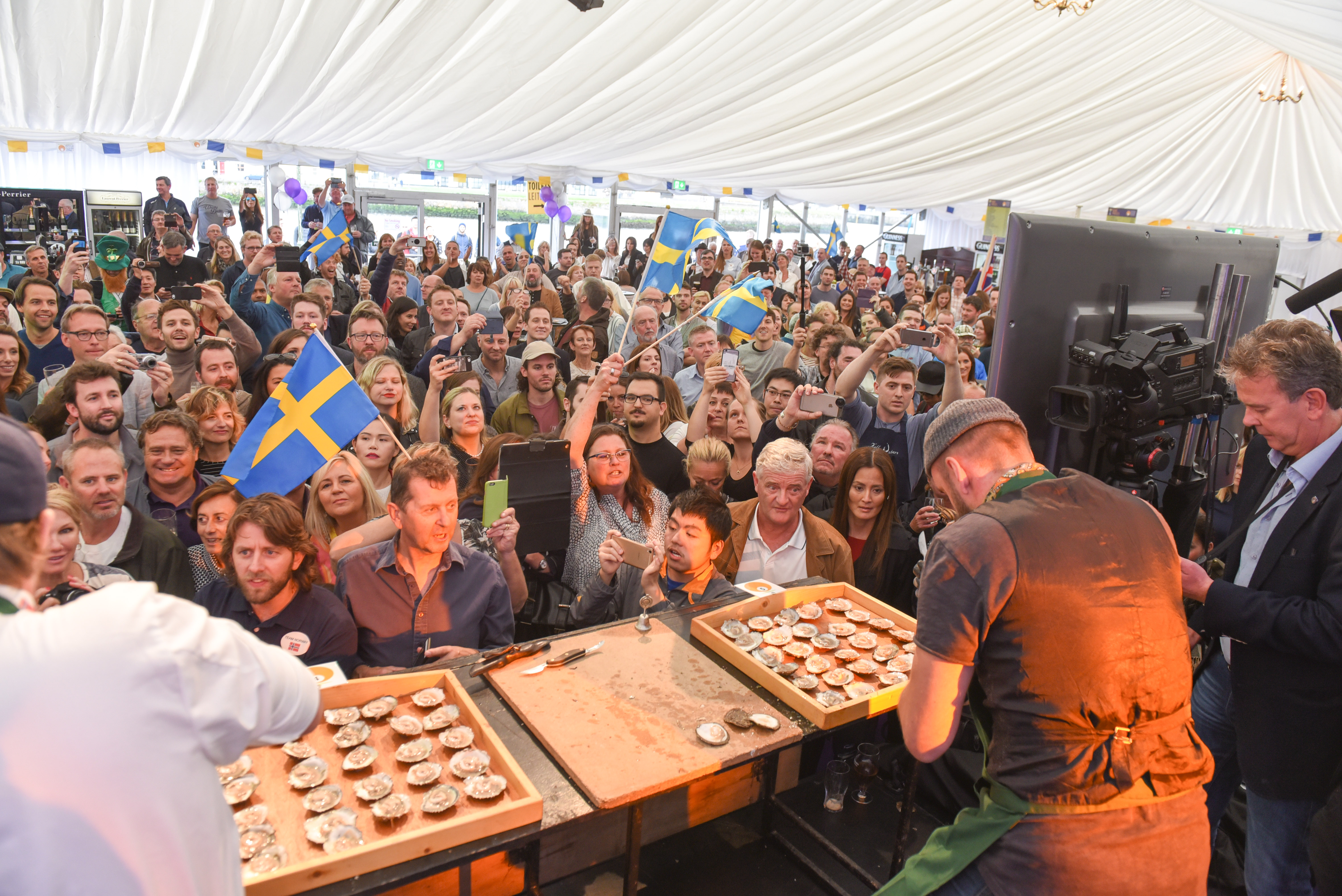 Galway International Oyster And Seafood Festival 2016