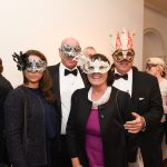 Dina, Graham, Teresa and Bill pictured at the Galway International Oyster and Seafood Festival, Masquerade Ball. Photo: Boyd Challenger