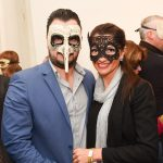 The Durhevics pictured at the Galway International Oyster and Seafood Festival, Masquerade Ball. Photo: Boyd Challenger