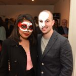 Nattaya and Ciaran Foy pictured at the Galway International Oyster and Seafood Festival, Masquerade Ball. Photo: Boyd Challenger