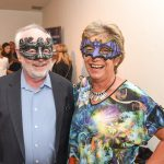 Robin and Jo Fish pictured at the Galway International Oyster and Seafood Festival, Masquerade Ball. Photo: Boyd Challenger