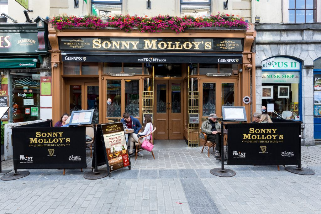 Sonny Molloy's Irish Whiskey Bar